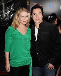 Laurie Holden and Benito Martinez at the screening of