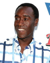 Don Cheadle at the L.A. premiere of