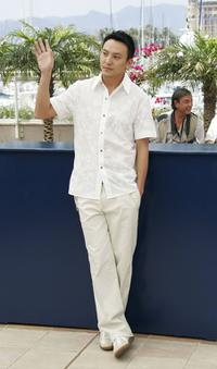 Chang Chen at the photocall promoting the film