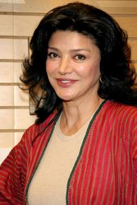 Shohred Aghdashloo at the book signing for
