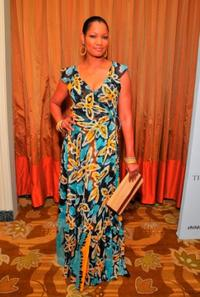 Garcelle Beauvais at the Saks Fifth Avenues 20th Annual Spring Luncheon.