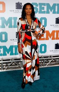 Garcelle Beauvais at the premiere of