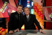 Dick Clark and Ryan Seacrest at the 35th anniversary showing of Dick Clark's New Year's Rockin' Eve.