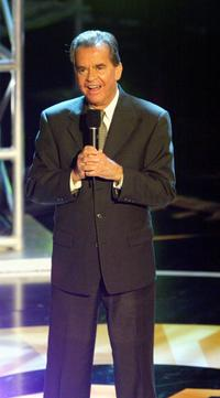 Dick Clark at 'Motown 45' Anniversary Celebration Show.