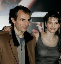 Albert Dupontel and Juliette Binoche at the premiere of