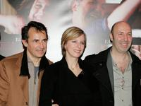 Albert Dupontel, Karin Viard and Director Cedric Klapisch at the premiere of