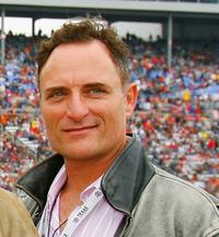 Kim Coates at the NASCAR Nextel Cup Series Dickies 500.