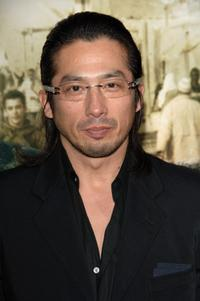 Hiroyki Sanada at the premiere of