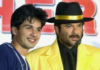 Shahid Kapoor and Anil Kapoor at the launch of