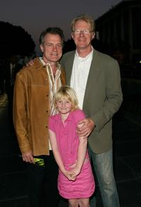 Stephen Collins, Hayden Begley and Ed Begley at the kick off of 'Live Earth'.