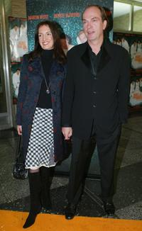 Herbert Knaup and Christiane Lehrmann at the premiere of
