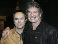 Jeffrey Combs and Gary Graham at the Grand Slam XIV: The Sci-Fi Summit.