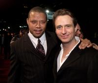 Linus Roache and Terrence Howard at the premiere of