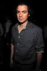 Kevin Corrigan at the Three Olives-hosted party for