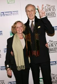 James Cromwell and Joan MacIntosh at the 20th Anniversary Genesis Awards.
