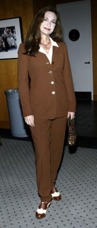 Mary Crosby at the Academy of Motion Picture Arts and Sciences.
