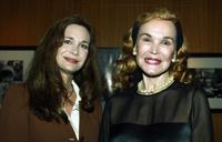 Mary Crosby and Kathryn Crosby at the Academy of Motion Picture Arts and Sciences.