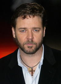 Russell Crowe at the German premiere of