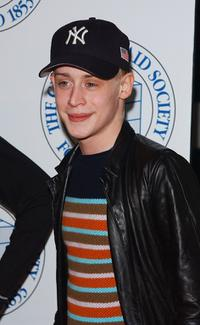 Macaulay Culkin at the Tribeca Film Festival screening of