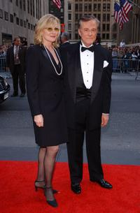 Robert Culp and wife at the NBC 75th Anniversary celebration.