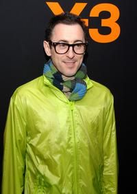 Alan Cumming at the adidas Y-3 Autumn/Winter 2007 show during the Mercedes-Benz Fashion Week.