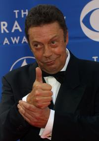 Tim Curry at the 44th Annual Grammy Awards.