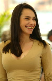 Beatrice Dalle at the 57th International Cannes Film Festival.