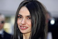 Beatrice Dalle at the 57th International Cannes Film Festival screening of
