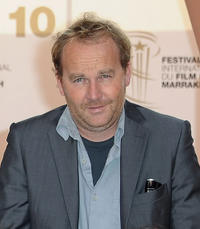 Xavier Beauvois at the photocall of the Short Film Jury during the 10th Marrakech Film Festival.