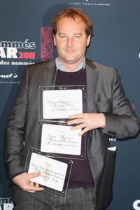 Xavier Beauvois at the Cesar 2011 Nominee Lunch in Paris.