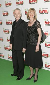 Anthony Daniels and Guest at the Sony Ericsson Empire Film Awards 2006.