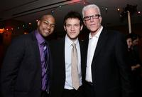 Ted Danson, Finesse Mitchell and Adam Rothenberg at the premiere of