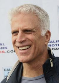 Ted Danson at the Paddle Out Protest at Malibu Surfrider Beach.