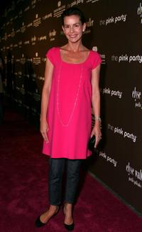 Embeth Davidtz at the Pink Party to benefit Cedars-Sinai Women's Cancer Research Institute.