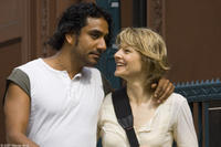 Naveen Andrews and Jodie Foster in
