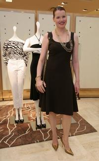 Geena Davis at the Michael Kors in-store appearance and fashion show.