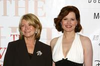 Geena Davis and Martha Stewart at the White House Projects 2006 EPIC Awards.