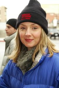 Hope Davis at the Sundance Film Festival.