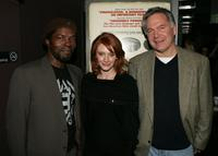 Isaach De Bankole, Bryce Dallas Howard and Jonathan Sehring at the IFC Films screening of