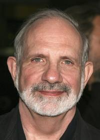 Brian De Palma at the Premiere of