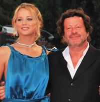Jennifer Lawrence and Joaquim de Almeida at the premiere of
