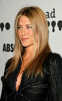 Jennifer Aniston at the 18th Annual GLAAD Media Awards at the Kodak Theatre.