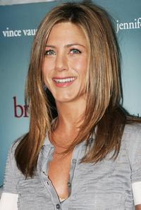 Jennifer Aniston at the news conference of