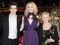 Judi Dench, Andrew Simpson and Cate Blanchett at the 57th Berlinale International Film Festival held in 2007 to promote the movie