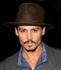 Johnny Depp at a special screening for