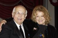 Angie Dickinson and Mayor Johnny Grant at the Lifetime Achievement Gala and 80th Birthday Celebration of Johnny Grant.