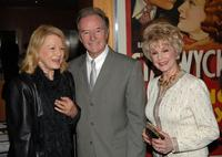 Angie Dickinson, William Wellman Jr. and Karen Sharpe Kramer at the Academy's salute to John Wayne with a screening of