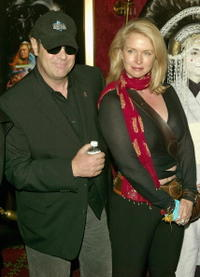 Dan Aykroyd and Donna Dixon at the premiere of