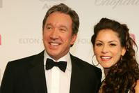 Tim Allen and wife Jane at the 15th Annual Elton John AIDS Foundation Academy Awards.