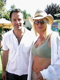 Gil Bellows and Nicolette Sheridan at the Hamilton Estate on Wildlife Waystations 7th Annual Safari Brunch Benefit.